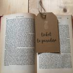 Yesihaveablog | The Writing Room Etsy Store | Ticket to Paradise Luggage Tag | Wanderlust Inspired Gifts