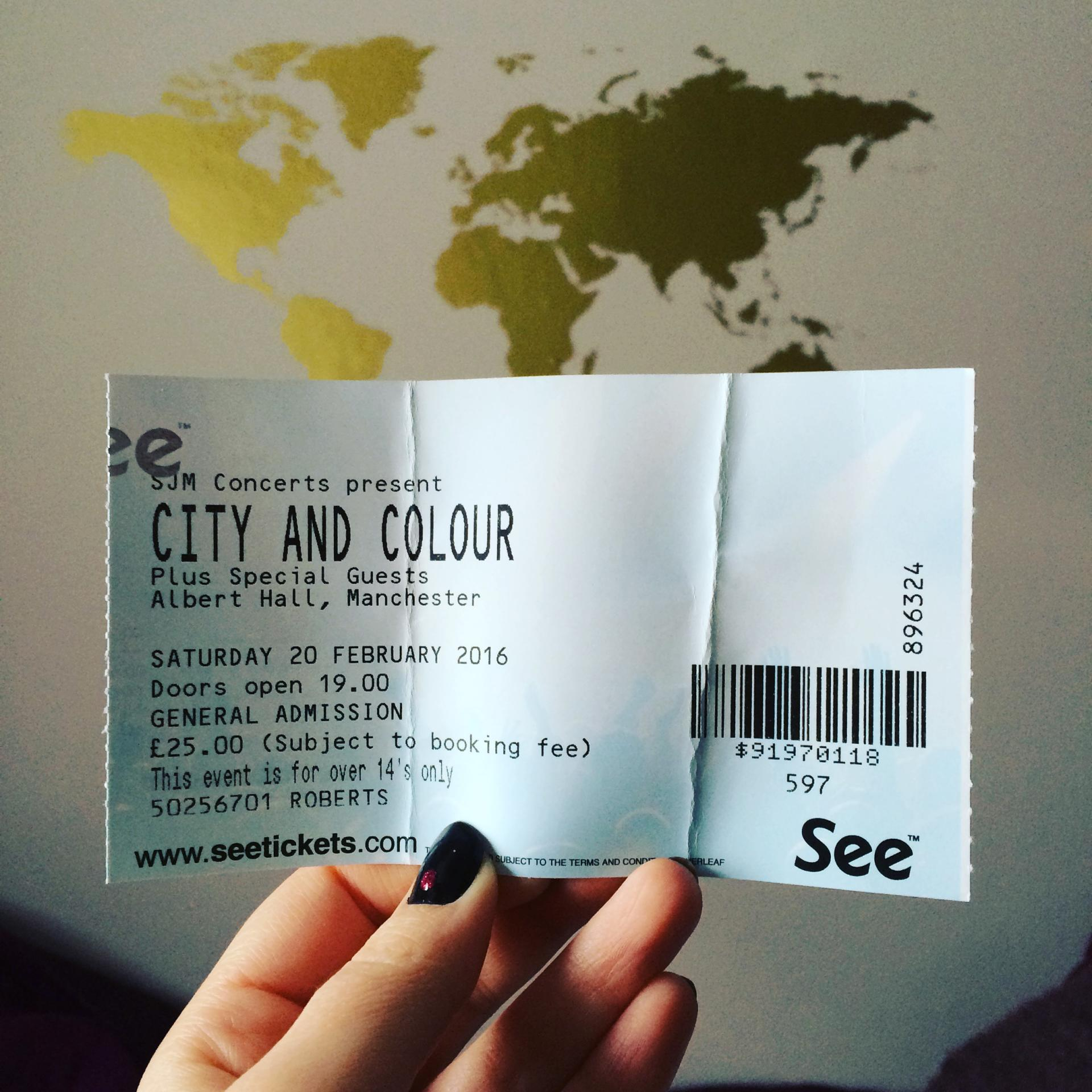 City and Colour Manchester
