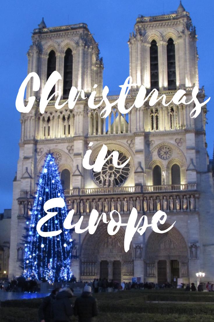Christmas in Europe Paris London England Norwich Norfolk