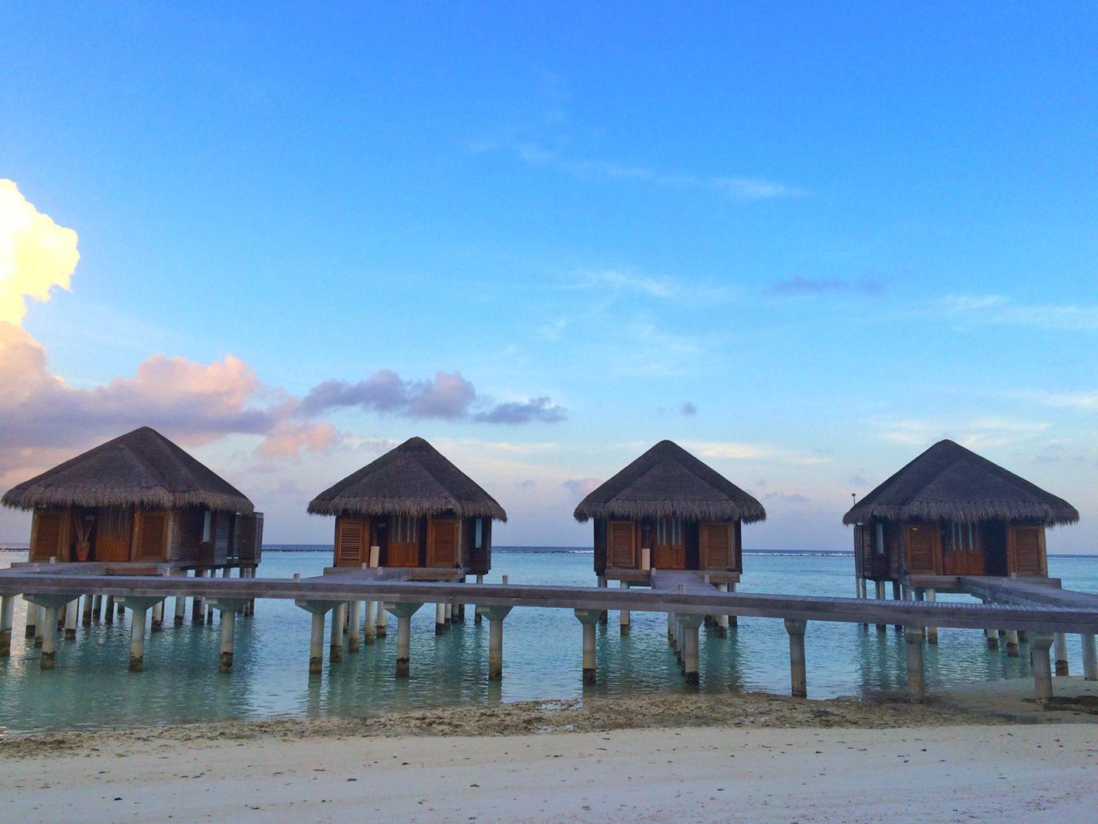 Luxury water villas luxury travel the maldives